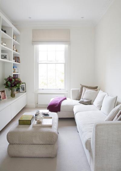 Các cách thiết kế phòng khách siêu hẹp trở nên đẹp và rộng rãi đến khó tin - Nhà Đẹp Số (8)