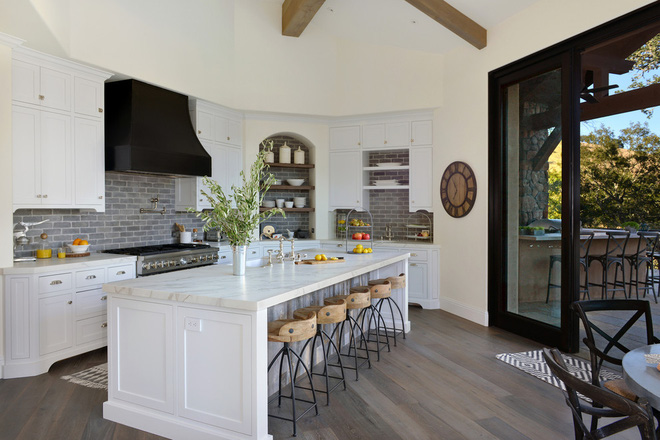 Các thiết kế phòng bếp theo phong cách Địa Trung Hải khiến bạn yêu từ cái nhìn đầu tiên - Nhà Đẹp Số (1)