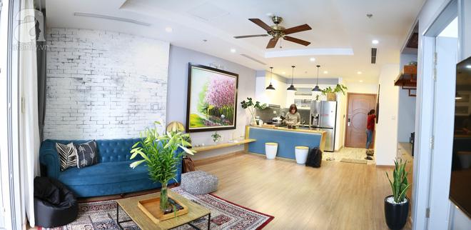 Không gian căn hộ 76 m2 xinh xắn như homestay ở Hà Nội - Nhà Đẹp Số (1)