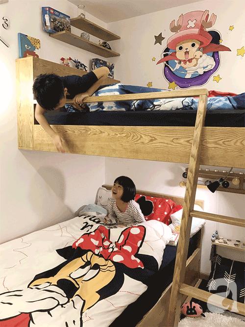 Không gian căn hộ 76 m2 xinh xắn như homestay ở Hà Nội - Nhà Đẹp Số (10)