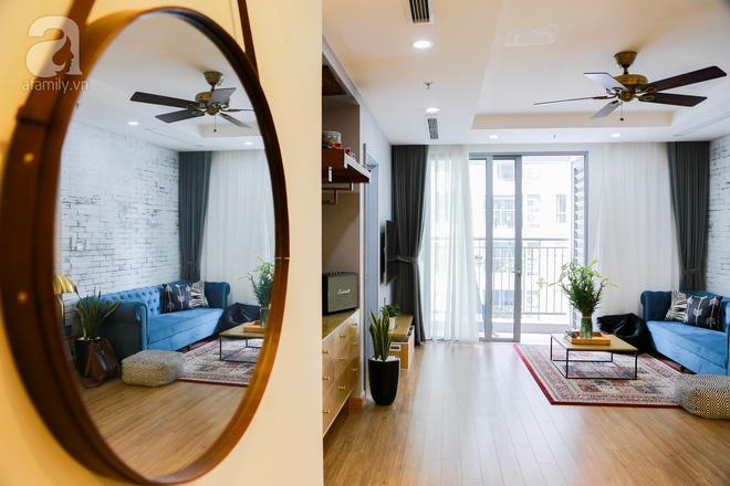 Không gian căn hộ 76 m2 xinh xắn như homestay ở Hà Nội - Nhà Đẹp Số (2)