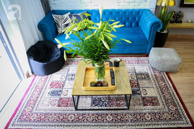 Không gian căn hộ 76 m2 xinh xắn như homestay ở Hà Nội - Nhà Đẹp Số (3)