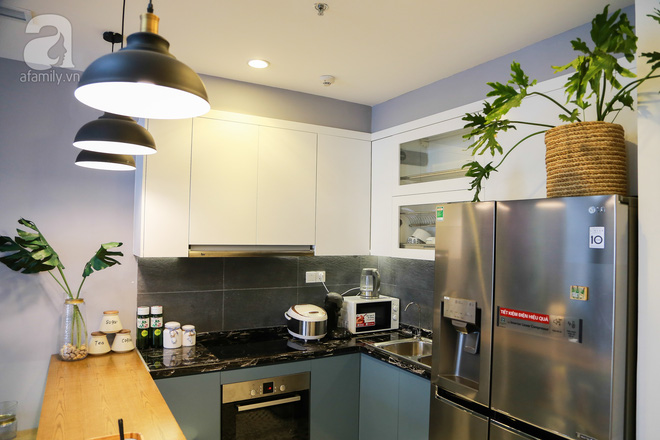 Không gian căn hộ 76 m2 xinh xắn như homestay ở Hà Nội - Nhà Đẹp Số (6)