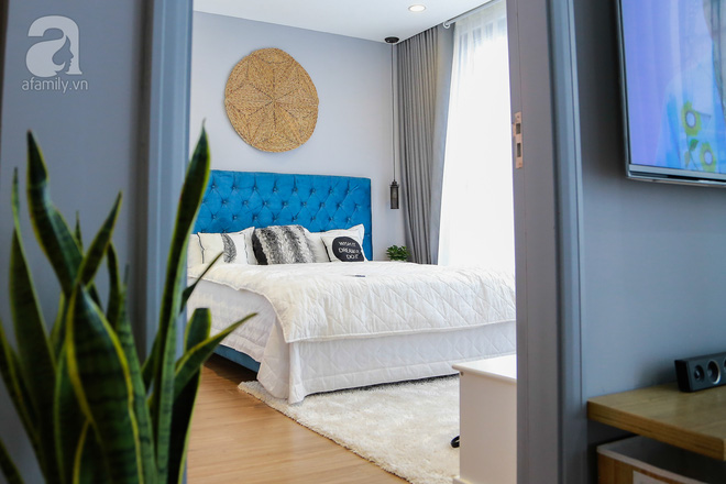 Không gian căn hộ 76 m2 xinh xắn như homestay ở Hà Nội - Nhà Đẹp Số (8)