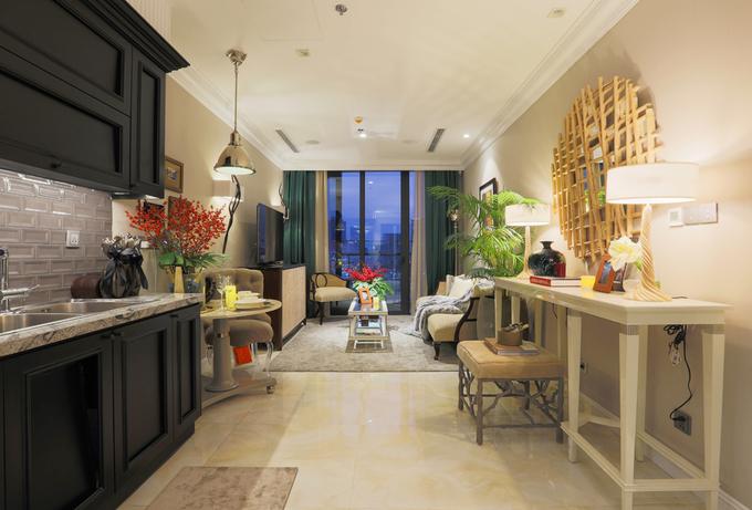 Không gian căn hộ nhỏ nhưng vẫn ấm cúng của nhà thiết kế nội thất Sài thành - Nhà Đẹp Số (2)