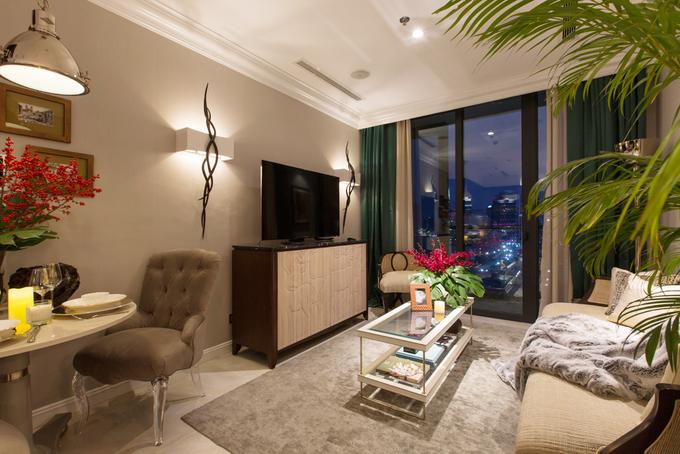 Không gian căn hộ nhỏ nhưng vẫn ấm cúng của nhà thiết kế nội thất Sài thành - Nhà Đẹp Số (3)