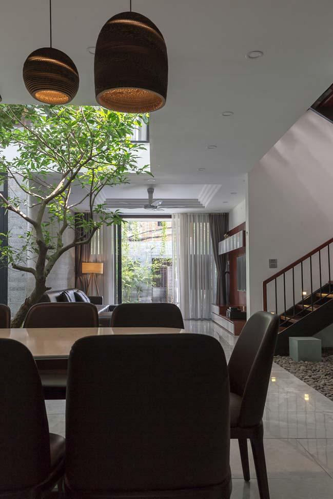 Không gian nhà phố ngập tràn cây xanh ở Hà Nội - Nhà Đẹp Số (14)