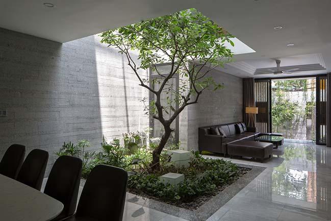 Không gian nhà phố ngập tràn cây xanh ở Hà Nội - Nhà Đẹp Số (15)