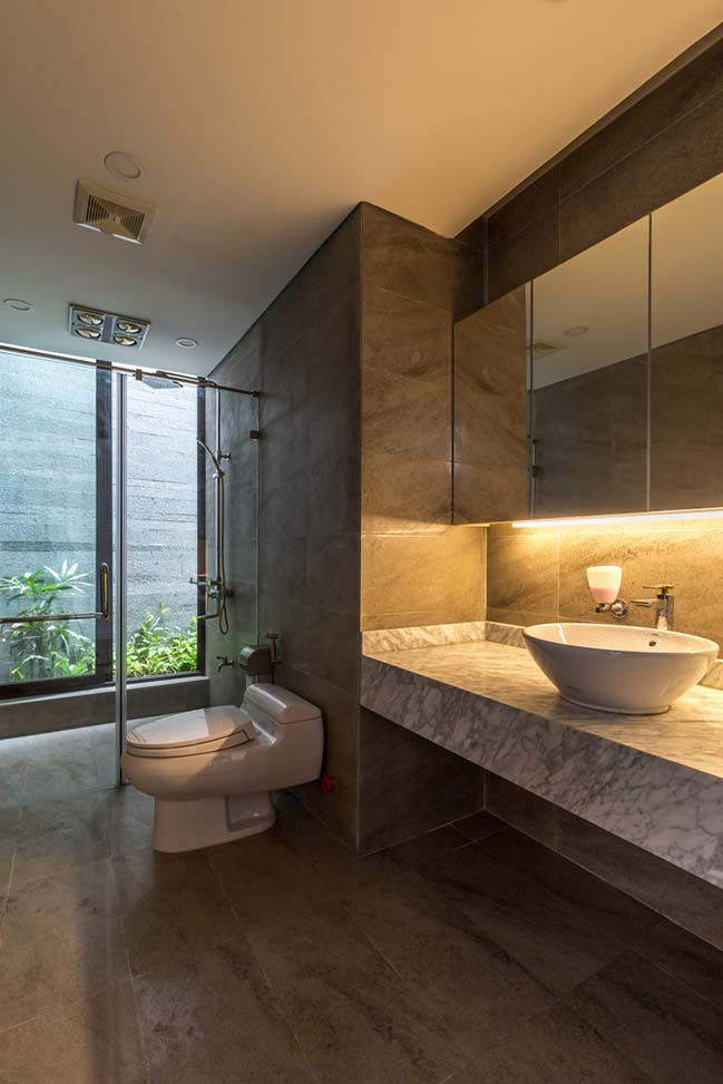 Không gian nhà phố ngập tràn cây xanh ở Hà Nội - Nhà Đẹp Số (19)