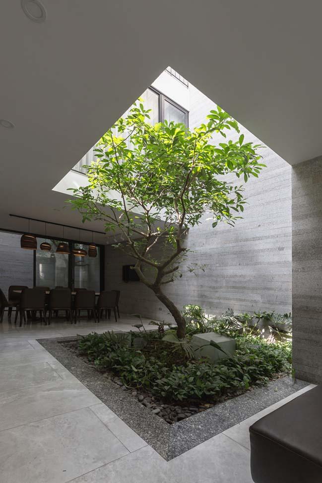 Không gian nhà phố ngập tràn cây xanh ở Hà Nội - Nhà Đẹp Số (2)