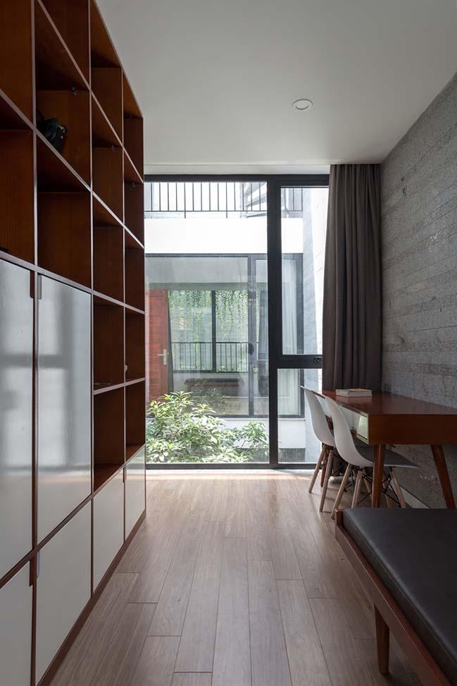 Không gian nhà phố ngập tràn cây xanh ở Hà Nội - Nhà Đẹp Số (3)