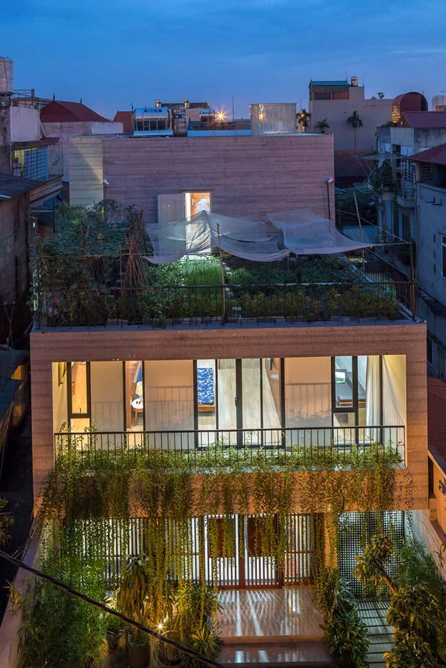 Không gian nhà phố ngập tràn cây xanh ở Hà Nội - Nhà Đẹp Số (4)