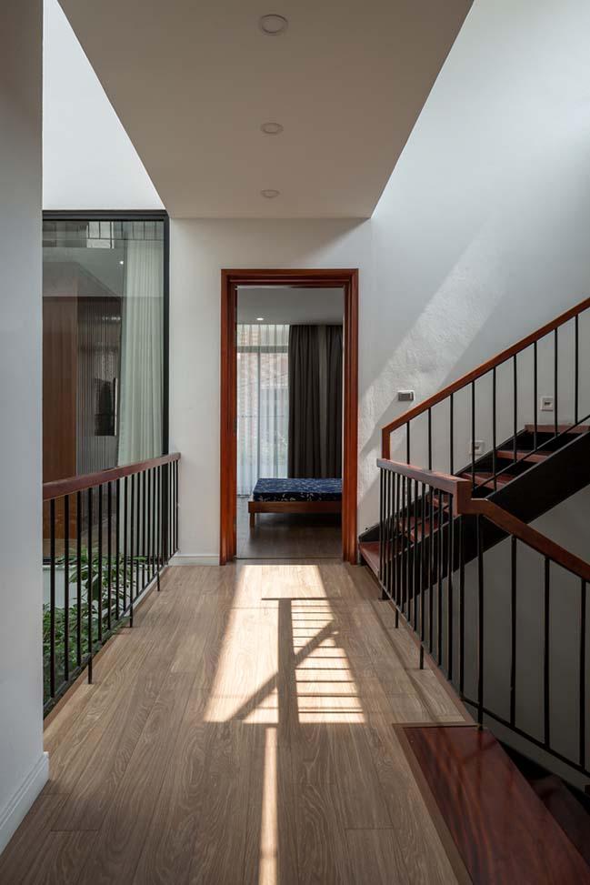 Không gian nhà phố ngập tràn cây xanh ở Hà Nội - Nhà Đẹp Số (8)