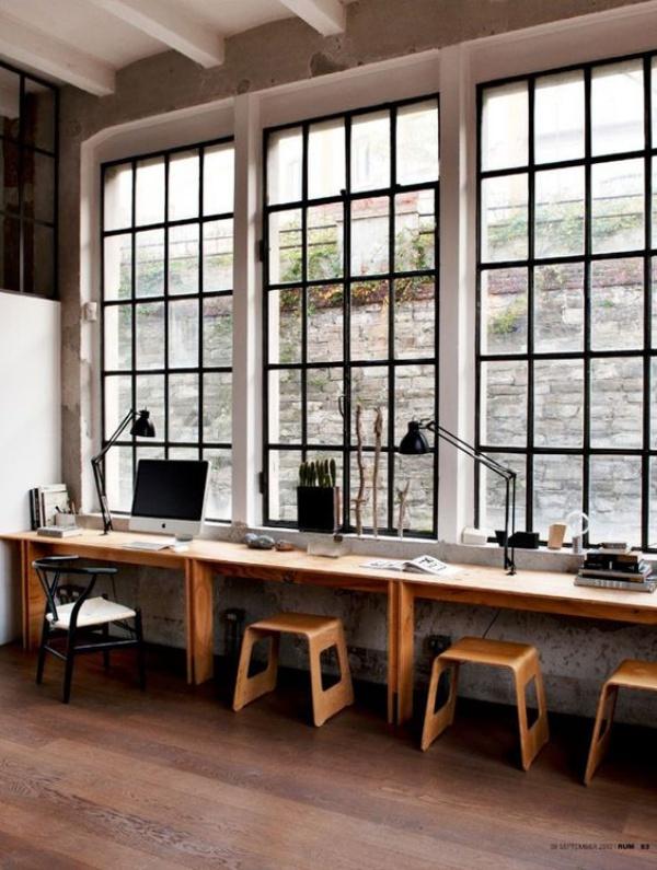 Mê mẩn những góc làm việc đẹp lung linh bên cửa sổ - Nhà Đẹp Số (1)
