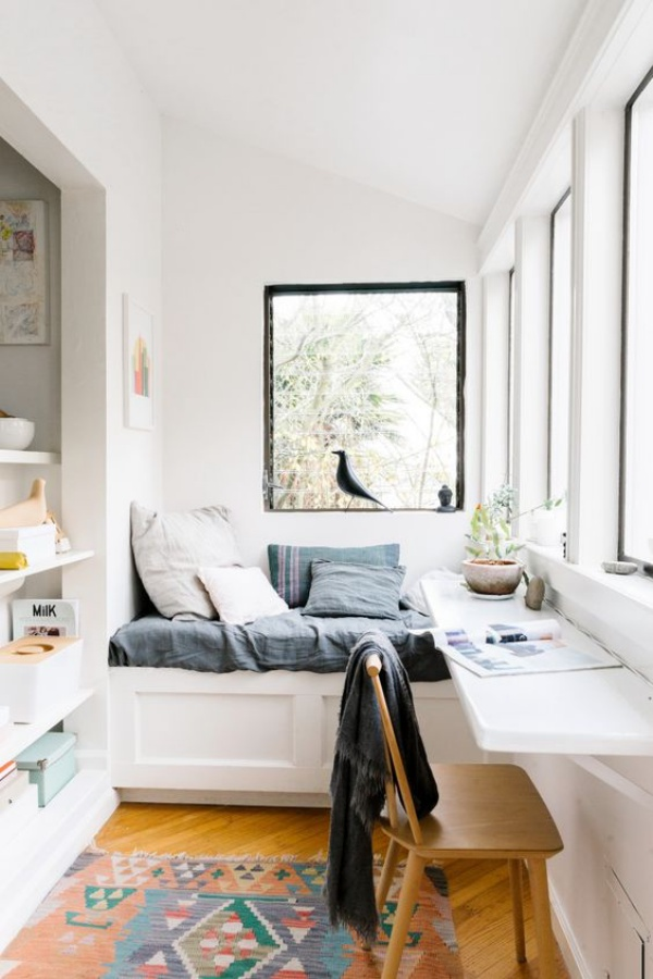 Mê mẩn những góc làm việc đẹp lung linh bên cửa sổ - Nhà Đẹp Số (2)