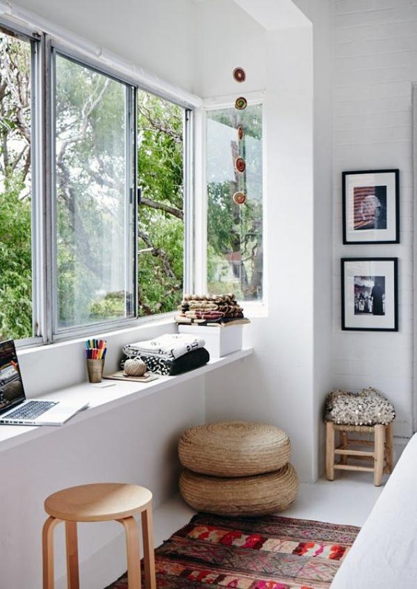 Mê mẩn những góc làm việc đẹp lung linh bên cửa sổ - Nhà Đẹp Số (3)