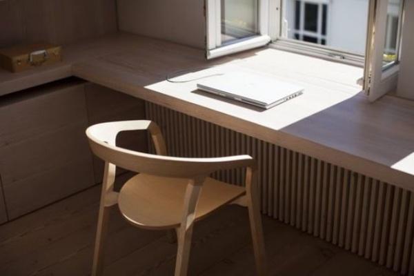 Mê mẩn những góc làm việc đẹp lung linh bên cửa sổ - Nhà Đẹp Số (4)