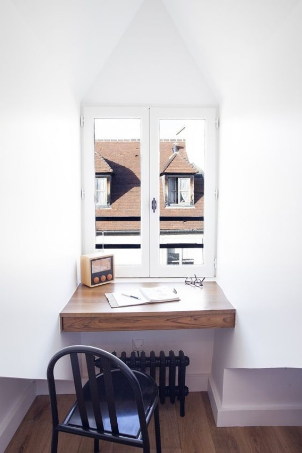 Mê mẩn những góc làm việc đẹp lung linh bên cửa sổ - Nhà Đẹp Số (5)