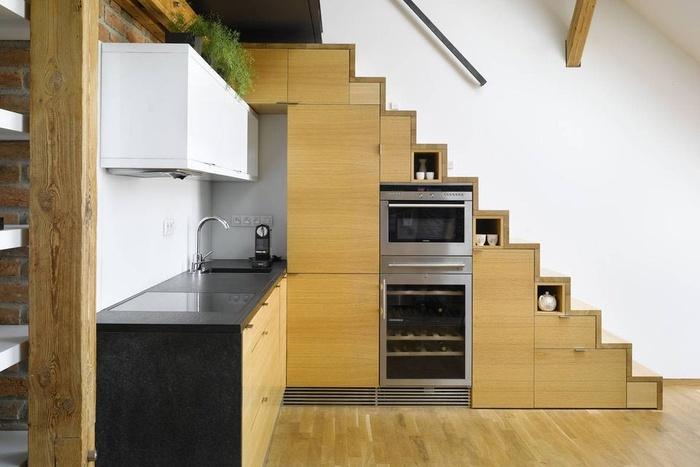 Những cách tận dụng cầu thang làm thành không gian lưu trữ tiện ích - Nhà Đẹp Số (3)