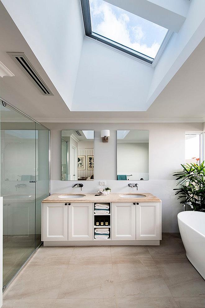 Những mẫu phòng tắm gác mái đẹp ngây ngất ai cũng ao ước sở hữu - Nhà Đẹp Số (1)