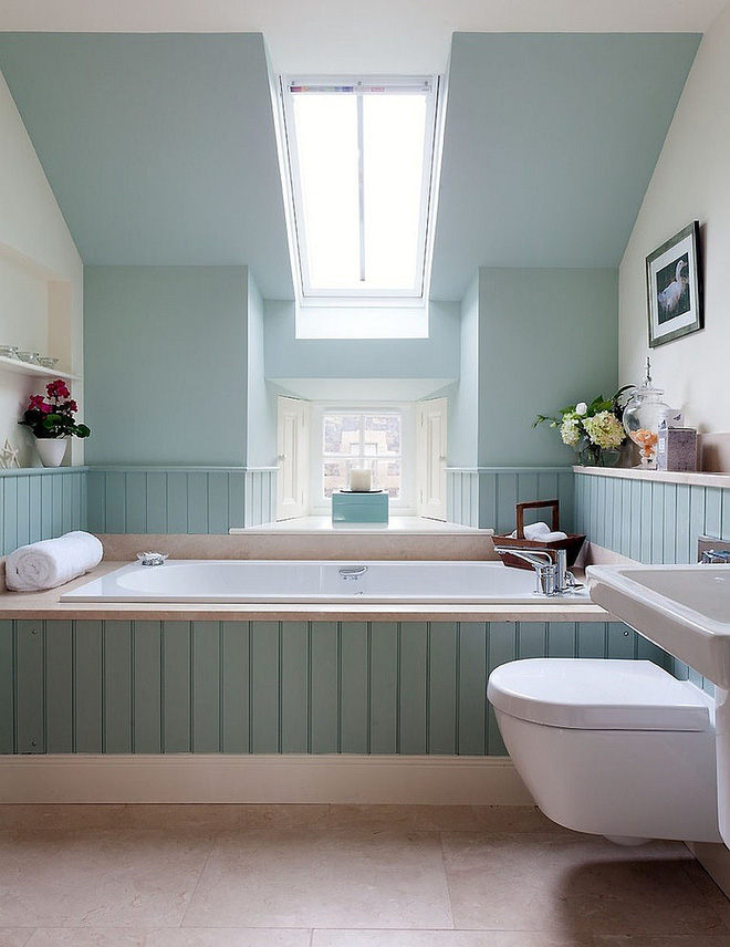 Những mẫu phòng tắm gác mái đẹp ngây ngất ai cũng ao ước sở hữu - Nhà Đẹp Số (12)