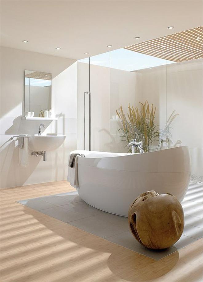 Những mẫu phòng tắm gác mái đẹp ngây ngất ai cũng ao ước sở hữu - Nhà Đẹp Số (4)