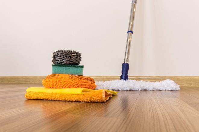 Sàn nhà sạch bong nhờ các mẹo vặt đơn giản ai cũng làm được - Nhà Đẹp Số (5)