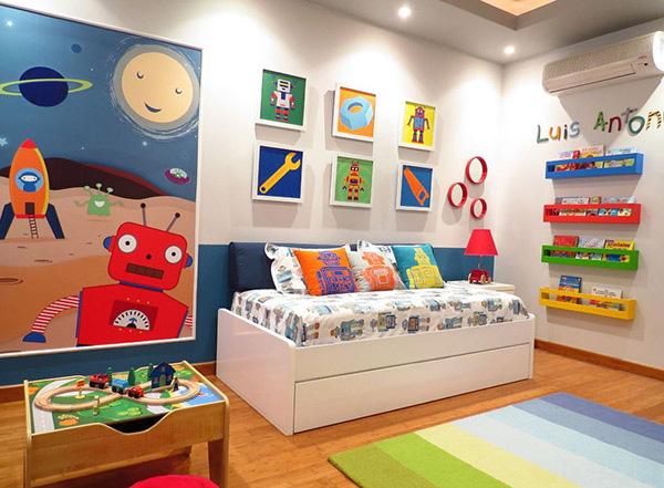 20 ý tưởng thiết kế phòng ngủ bé trai không thể xuất sắc hơn - Nhà Đẹp Số (11)