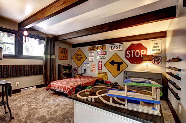 20 ý tưởng thiết kế phòng ngủ bé trai không thể xuất sắc hơn - Nhà Đẹp Số (8)