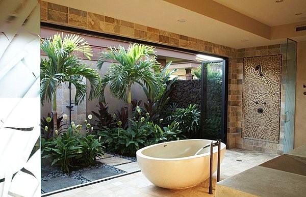 3 gợi ý trang trí phòng tắm lấy cảm hứng từ thiên nhiên - Nhà Đẹp Số (4)