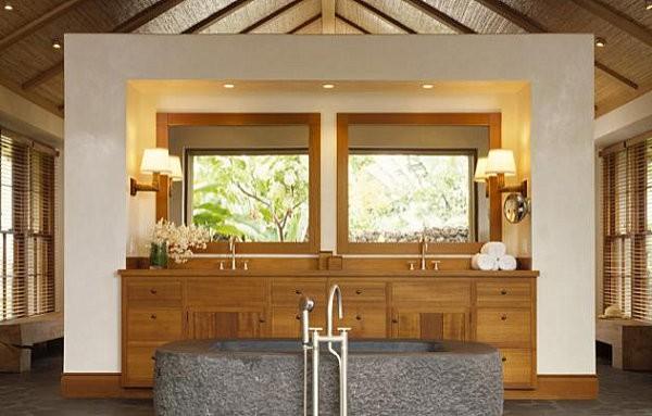 3 gợi ý trang trí phòng tắm lấy cảm hứng từ thiên nhiên - Nhà Đẹp Số (6)