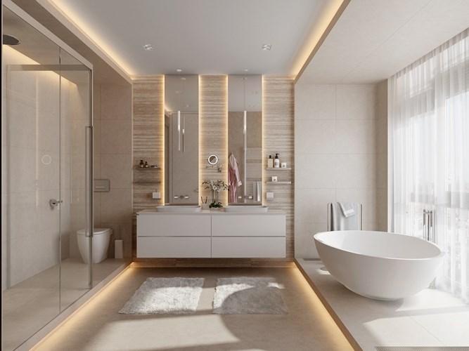 Các mẫu bồn rửa đôi cho phòng tắm thêm sang chảnh - Nhà Đẹp Số (1)