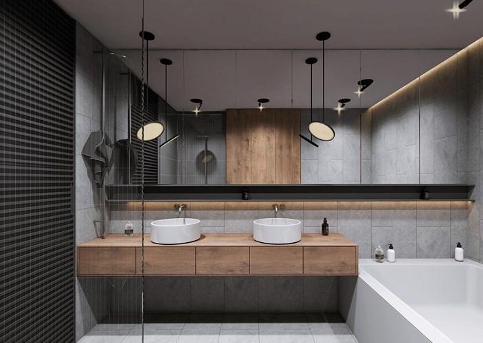 Các mẫu bồn rửa đôi cho phòng tắm thêm sang chảnh - Nhà Đẹp Số (10)