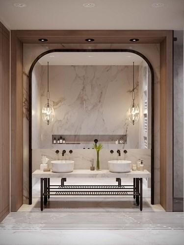 Các mẫu bồn rửa đôi cho phòng tắm thêm sang chảnh - Nhà Đẹp Số (11)