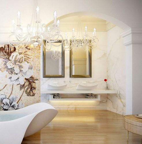 Các mẫu bồn rửa đôi cho phòng tắm thêm sang chảnh - Nhà Đẹp Số (15)