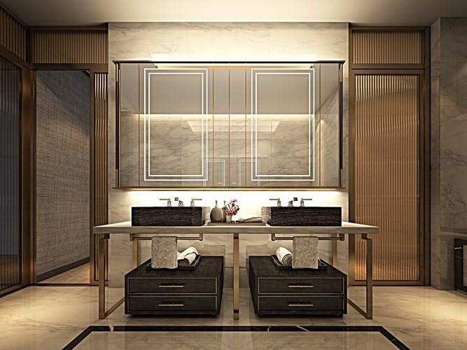 Các mẫu bồn rửa đôi cho phòng tắm thêm sang chảnh - Nhà Đẹp Số (16)