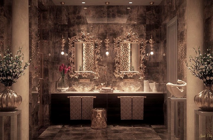 Các mẫu bồn rửa đôi cho phòng tắm thêm sang chảnh - Nhà Đẹp Số (17)