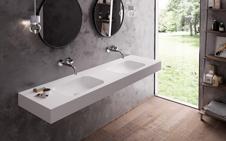 Các mẫu bồn rửa đôi cho phòng tắm thêm sang chảnh - Nhà Đẹp Số (2)