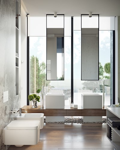 Các mẫu bồn rửa đôi cho phòng tắm thêm sang chảnh - Nhà Đẹp Số (20)