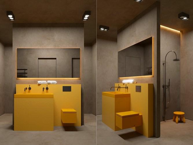 Các mẫu bồn rửa đôi cho phòng tắm thêm sang chảnh - Nhà Đẹp Số (3)