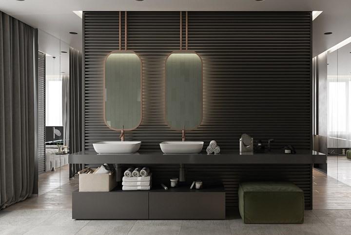 Các mẫu bồn rửa đôi cho phòng tắm thêm sang chảnh - Nhà Đẹp Số (4)