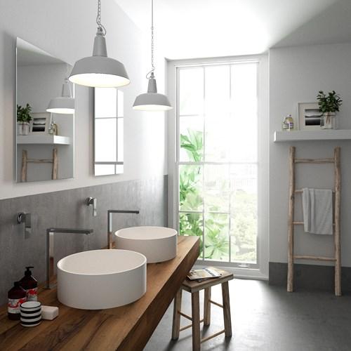 Các mẫu bồn rửa đôi cho phòng tắm thêm sang chảnh - Nhà Đẹp Số (5)