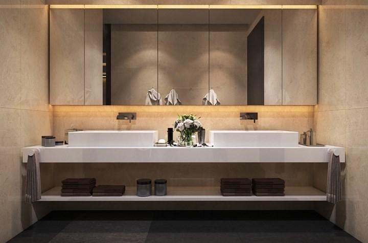 Các mẫu bồn rửa đôi cho phòng tắm thêm sang chảnh - Nhà Đẹp Số (9)