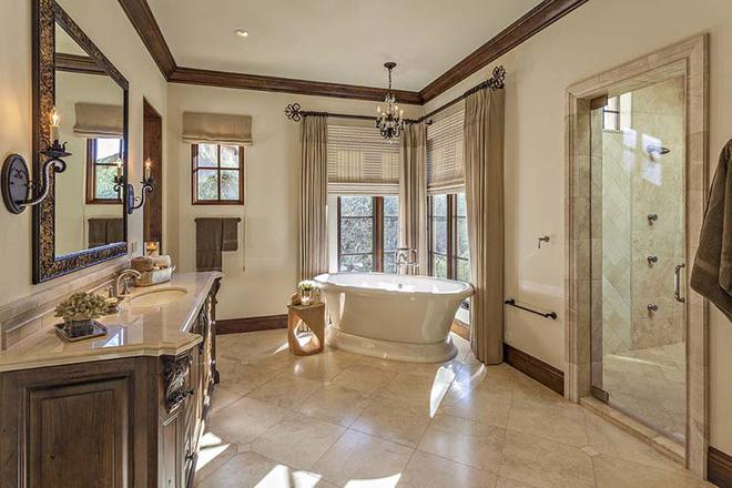 Các mẫu phòng tắm mang đậm hơi thở vùng Địa Trung Hải nắng gió - Nhà Đẹp Số (1)
