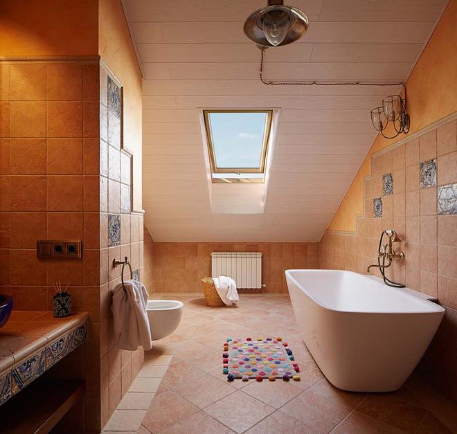 Các mẫu phòng tắm mang đậm hơi thở vùng Địa Trung Hải nắng gió - Nhà Đẹp Số (14)