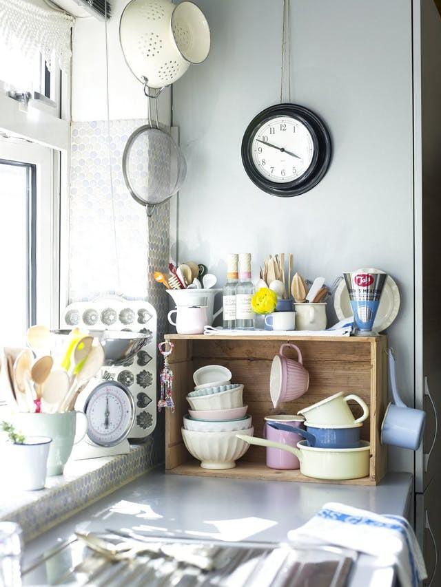 Không gian phòng bếp nhỏ chẳng lo vì đã có 10 cách lưu trữ cực thông minh này - Nhà Đẹp Số (2)