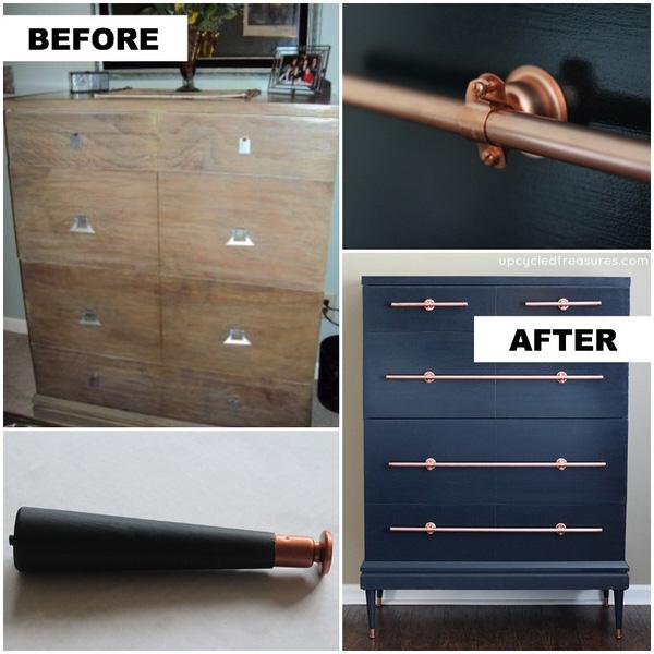 Muôn cách tái chế ống nước cũ thành đồ nội thất xinh xắn - Nhà Đẹp Số (3)