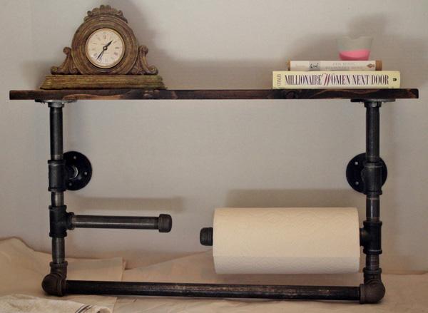 Muôn cách tái chế ống nước cũ thành đồ nội thất xinh xắn - Nhà Đẹp Số (4)