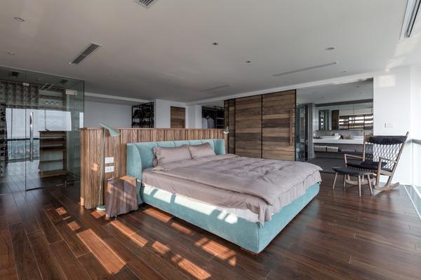 Ngắm mãi không chán căn hộ penthouse 250 m2 nằm trong khu đô thị Ecopark, Hà Nội - Nhà Đẹp Số (10)