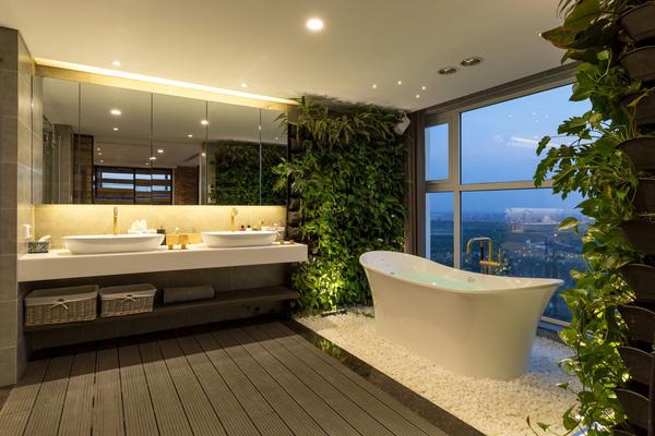Ngắm mãi không chán căn hộ penthouse 250 m2 nằm trong khu đô thị Ecopark, Hà Nội - Nhà Đẹp Số (14)